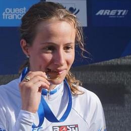 Fantastica Lisa agli europei di ciclismo Vola nella crono e porta l'oro a Pedrengo