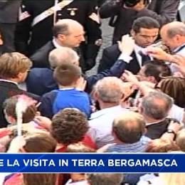 Ciampi, il ricordo della visita a Bergamo