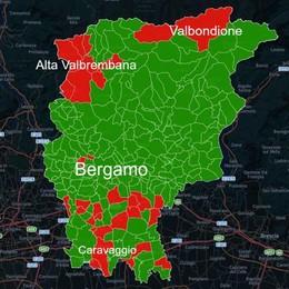 Piano di emergenza terremoti Tanti Comuni non in regola - Mappa