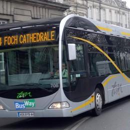 Da Redona al nuovo ospedale Il metrobus di Gori scende in strada
