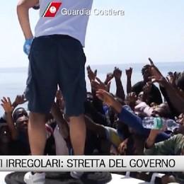 Migranti irregolari, stratta del Governo.