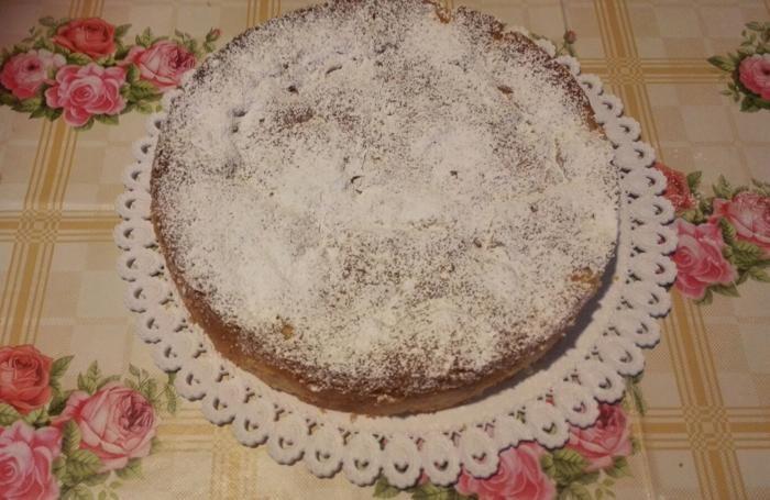 Ecco la nostra torta di mele. Inviateci le foto della vostra!