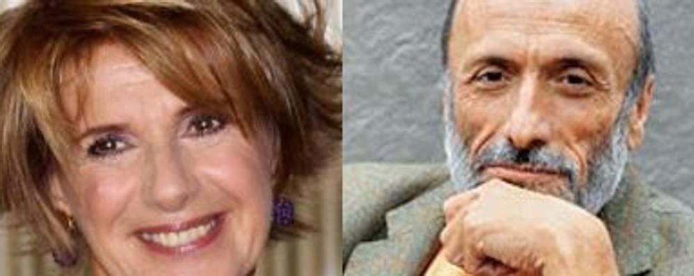 Ad Almenno Petrini e Lella Costa