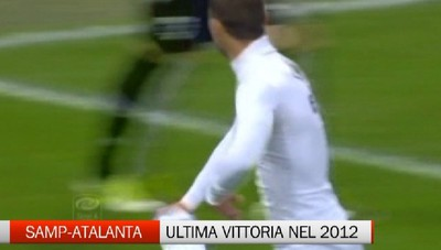 Sampdoria-Atalanta, ultima vittoria nerazzurra nel 2012