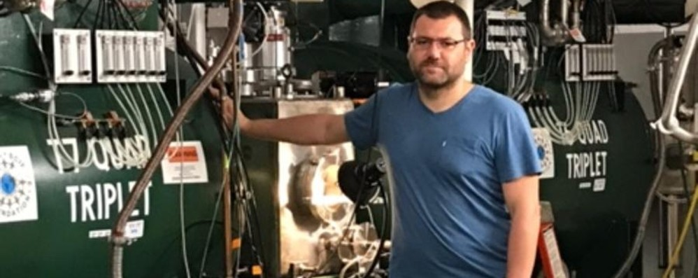 Da Verdellino agli Usa studia i nuclei atomici