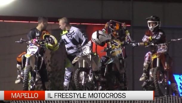 Mapello, il freestyle motocross extreme