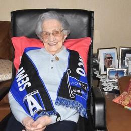 Teresa, ultra(s) centenaria atalantina «Il dono per i 105 anni? 3 punti a Genova»