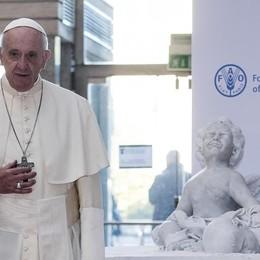 Fame zero, Bergoglio incalza il mondo