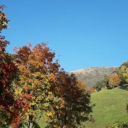 Colori d'autunno sul Monte Misma