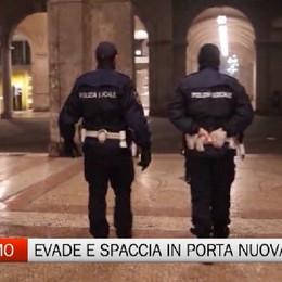 Bergamo - Evade dai domiciliari per spacciare, arrestato in Porta Nuova