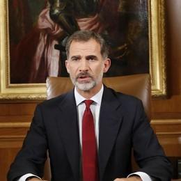 Il discorso del re spacca la Spagna «Catalogna, slealtà inaccettabile»