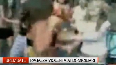 Brembate: bulla violenta arrestata