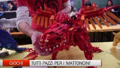 La magia dei Lego a Bergamo Tutti pazzi per i «mattoncini»