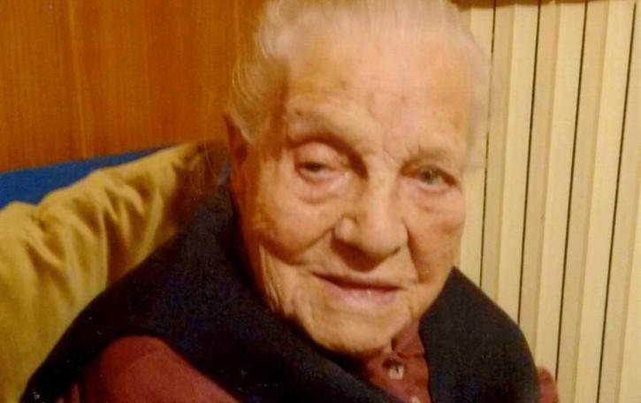 Nonna Maria, che record: 109 anni È la decana della Bergamasca