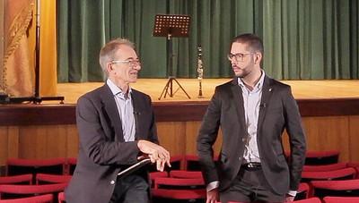 Chiametti, ingegnere clarinettista I «Protagonisti», giovani talenti crescono