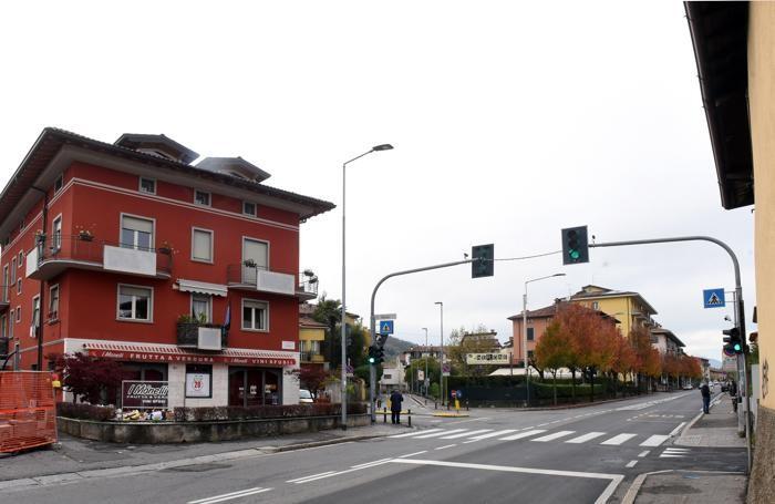 Via Baioni nel 2017