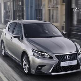 Nuova Lexus CT Hybrid Più confort e sicurezza