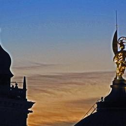 Sant'Alessandro al tramonto