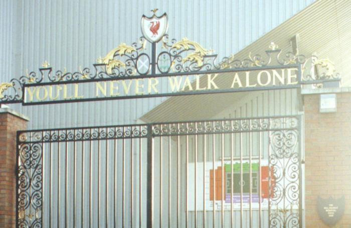 L'ingresso di Anfield
