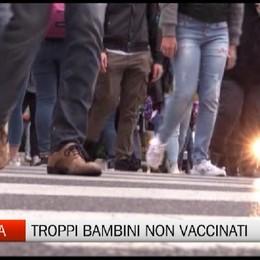 Allarme a Bergamo: troppi bambini non vaccinati
