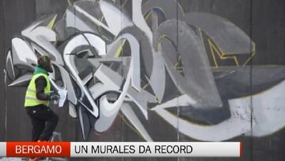 Arriva il murales dei record