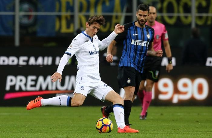 Serie A TIM 2017-18 giornata 13 inter - atalanta de roon marten