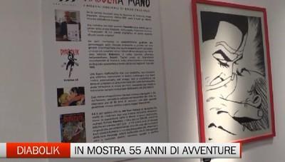 Enzo Faccioli e Diabolik a Bergamo
