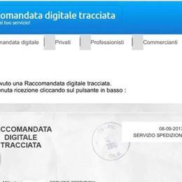 Polizia postale: «Attenti alla truffa» Mail con falsa raccomandata digitale