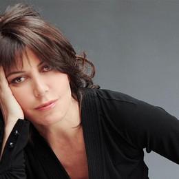 Sabina Guzzanti  a Nembro
