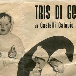 I gemelli della Plasmon hanno 60 anni Da Castelli Calepio divennero delle star