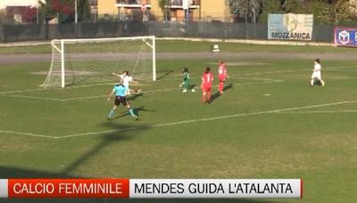 Calcio femminile, la portoghese Mendes all'Atalanta Mozzanica