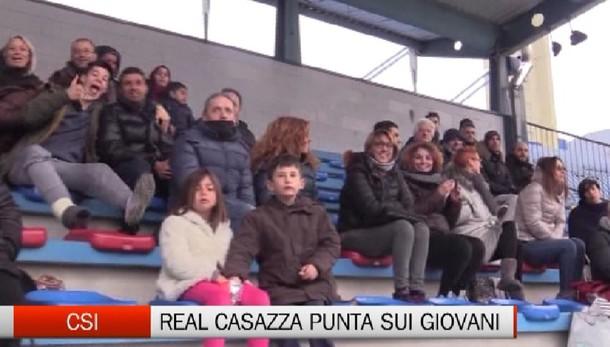 Csi, Real casazza calcio punta sui giovani