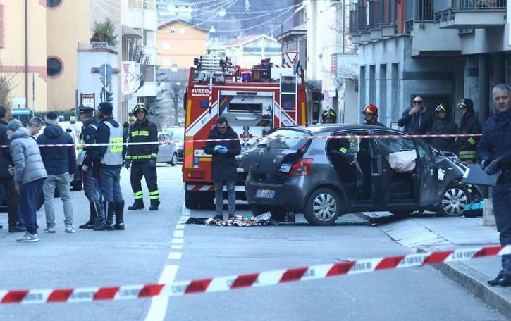 Bergamasca travolta a Sondrio Il 27enne accusato di strage