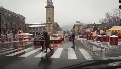 La neve a Bergamo