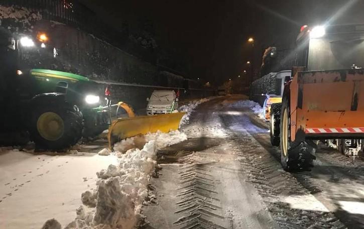 Neve e strade, la situazione nei Comuni Problemi nelle valli e sulle superstrade