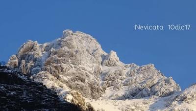Le montagne innevate dell'alta Val Seriana