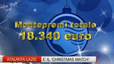 Atalanta-Lazio, è il Christmas Match 2017