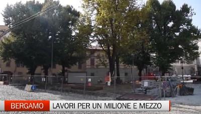 Bergamo,  cantieri anti-allagamento  A Loreto lavori per 700mila euro