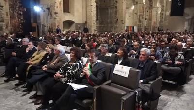 Consegnate le benemerenze civiche Bergamo celebra le «sue» eccellenze