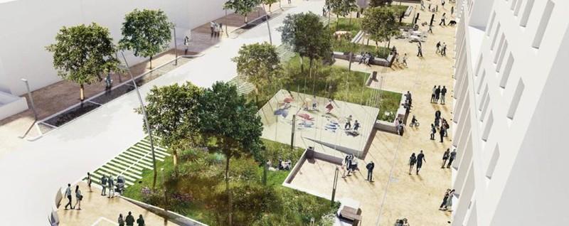 Ecco il nuovo piazzale risorgimento cantieri al via in for Progetti di edilizia eco friendly
