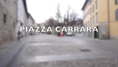 Piazza Carrara è tutta nuova
