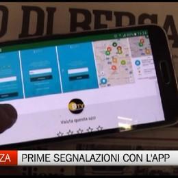 Bergamo, attiva la app per la sicurezza In poche ore già due segnalazioni