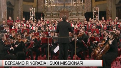 Bergamo ringrazia i suoi missionari