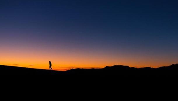 Il sole scende sulla cresta
