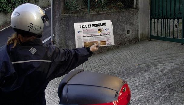 Ricevi L'Eco di Bergamo a casa con meno di 90 centesimi al giorno