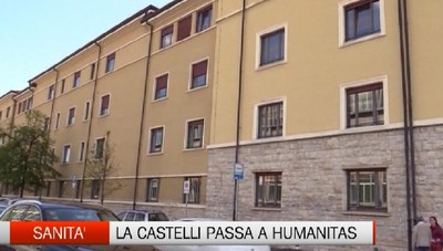 Sanità - La Castelli passa a Humanitas