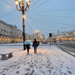 La neve è arrivata, ma a Torino - Foto La partita dell'Atalanta non è a rischio