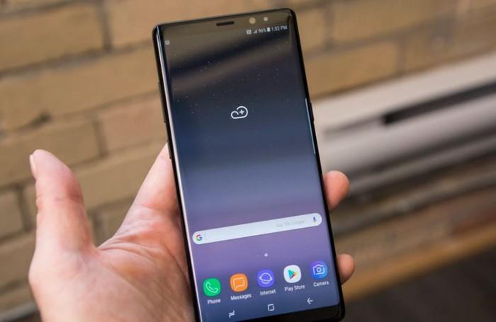 Samsung Galaxy Note 8, ecco il nuovo update