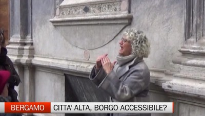 Bergamo - Città Alta, borgo accessibile?