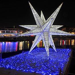 A Sarnico super stella galleggiante Illuminerà le feste sul Sebino